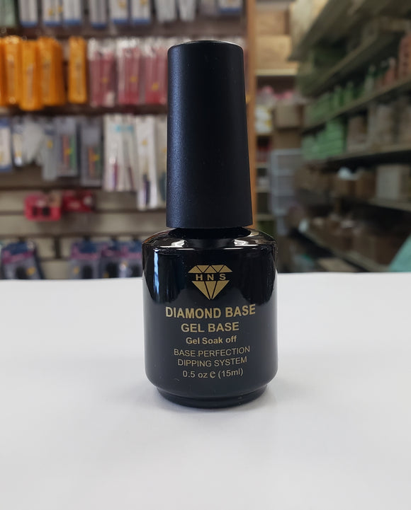 HNS Diamond Soak Off Gel Base Black Label 0.5oz