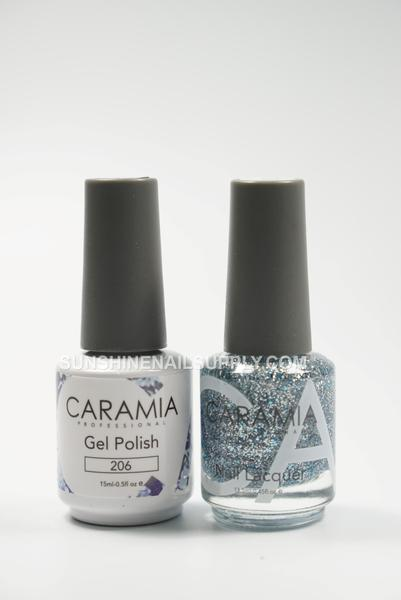 Caramia Nail Lacquer And Gel Polish, 206