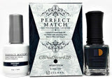 LeChat Perfect Match Nail Lacquer And Gel Polish, PMS209, Modern Muse Collection, Destiny, 0.5oz