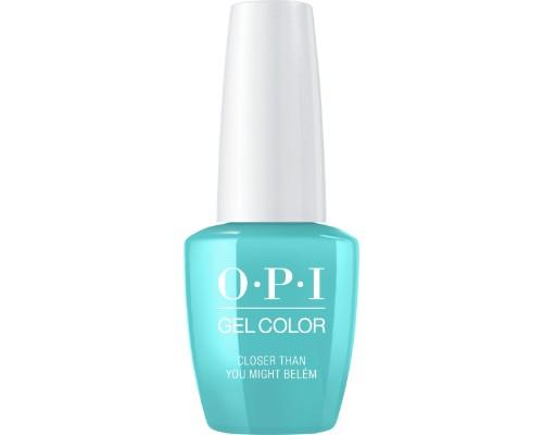 OPI GelColor 3, Lisbon Collection, L24, Closer Than You Might Belem, 0.5oz