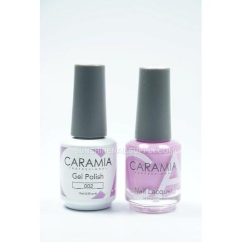 Caramia Nail Lacquer And Gel Polish, 002