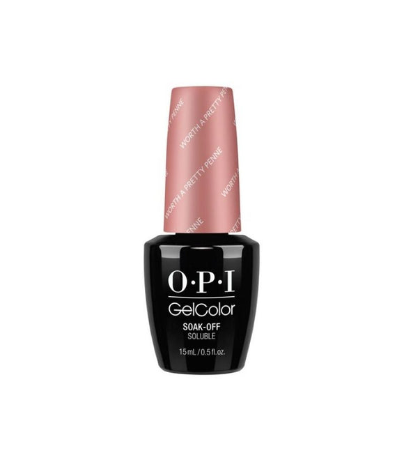 OPI Gelcolor, V27, Worth A Pretty Penne, 0.5oz