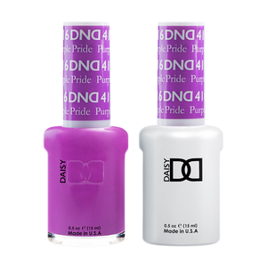 DND Nail Lacquer And Gel Polish, 416, Purple Pride, 0.5oz