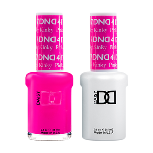 DND Nail Lacquer And Gel Polish, 417, Pinky Kinky, 0.5oz