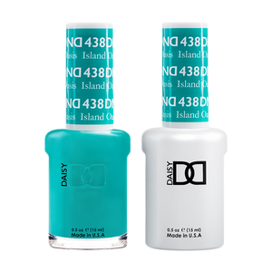 DND Nail Lacquer And Gel Polish, 438, Island Oasis, 0.5oz