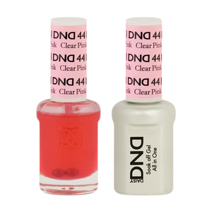 DND Nail Lacquer And Gel Polish, 441, Clear Pink, 0.5oz