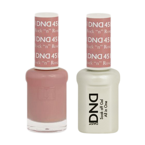 "DND Nail Lacquer And Gel Polish, 451, Rock ""N"" Rose, 0.5oz"