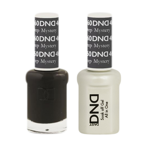 DND Nail Lacquer And Gel Polish, 460, Deep Mystery, 0.5oz