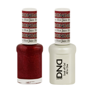 DND Nail Lacquer And Gel Polish, 463, Hot Jazz, 0.5oz