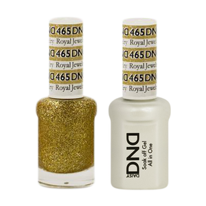 DND Nail Lacquer And Gel Polish, 465, Royal Jewelry, 0.5oz