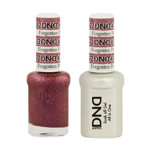 DND Nail Lacquer And Gel Polish, 472, Forgotten Pink, 0.5oz