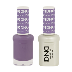 DND Nail Lacquer And Gel Polish, 492, Lavender Prophet, 0.5oz