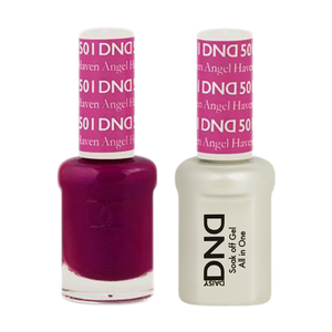 DND Nail Lacquer And Gel Polish, 501, Haven Angel, 0.5oz