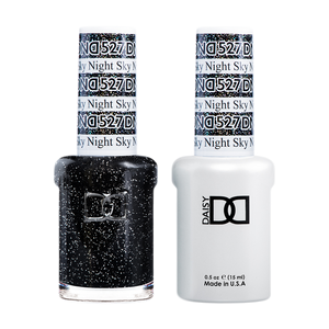 DND Nail Lacquer And Gel Polish, 527, Night Sky, 0.5oz