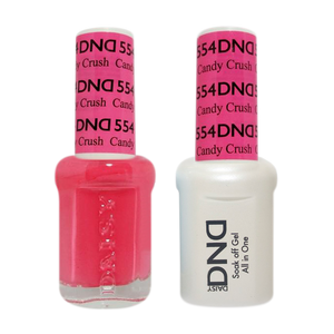 DND Nail Lacquer And Gel Polish, 554, Candy Crush, 0.5oz