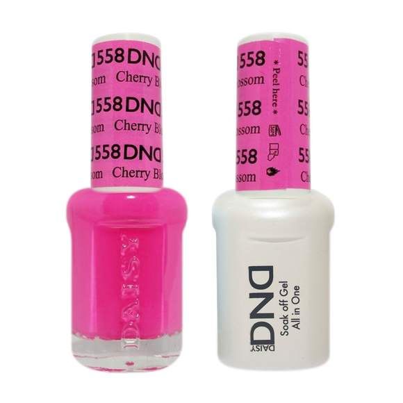 DND Nail Lacquer And Gel Polish, 558, Cherry Blossom, 0.5oz