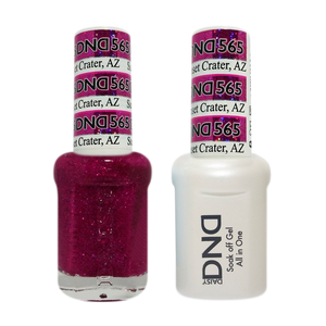DND Nail Lacquer And Gel Polish, 565, Sunset Crater AZ, 0.5oz