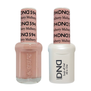 DND Nail Lacquer And Gel Polish, 594, Mullberry, 0.5oz