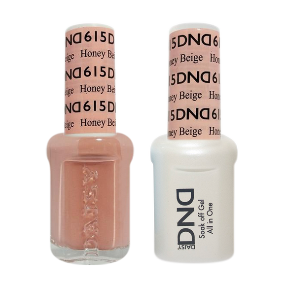 DND Nail Lacquer And Gel Polish, 615, Honey Beige, 0.5oz