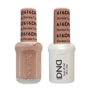 DND Nail Lacquer And Gel Polish, 616,Havana Cream, 0.5oz