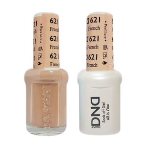 DND Nail Lacquer And Gel Polish, 621, French Vanilla, 0.5oz