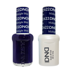 DND Nail Lacquer And Gel Polish, 622, Midnight Blue, 0.5oz