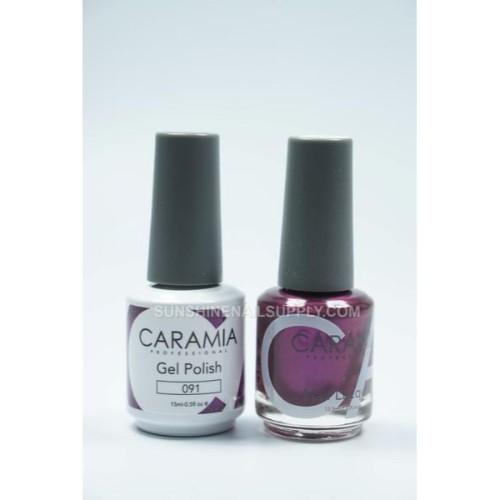 Caramia Nail Lacquer And Gel Polish, 091