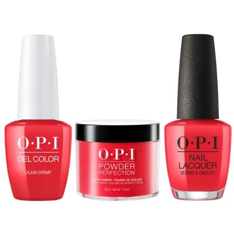 OPI 3in1, DGLL64, Cajun Shrimp