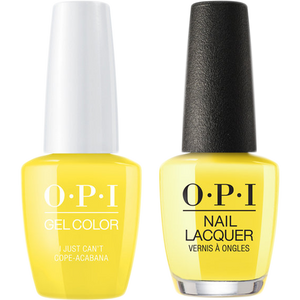 OPI GelColor And Nail Lacquer, A65 ,I Just Can't Cope-Acabana, 0.5oz