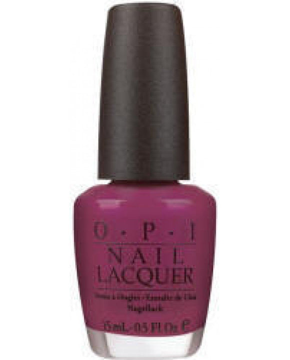OPI Nail Lacquer, NL B55, Plugged-In Plum
