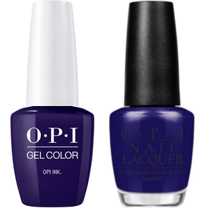 OPI GelColor And Nail Lacquer, B61, OPI Ink, 0.5oz