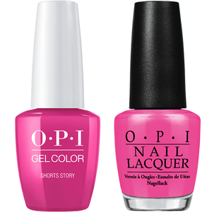 OPI GelColor And Nail Lacquer, B86, Short Story, 0.5oz