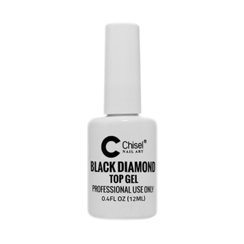 Chisel Black Diamond Top Gel, 0.4oz
