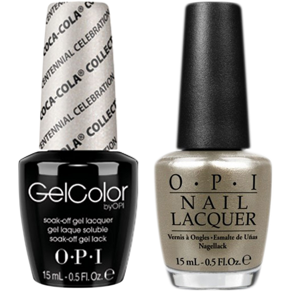 OPI GelColor And Nail Lacquer, C94, Centennial Celebration, 0.5oz