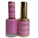 DC Nail Lacquer And Gel Polish (New DND), DC018, Violet Pink, 0.6oz