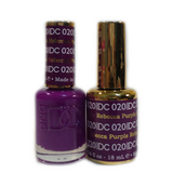 DC Nail Lacquer And Gel Polish (New DND), DC020, Rebecca Purple, 0.6oz