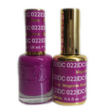 DC Nail Lacquer And Gel Polish (New DND), DC022, Magenta Rose, 0.6oz