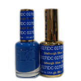 DC Nail Lacquer And Gel Polish (New DND), DC027, Pittsburgh Blue, 0.6oz
