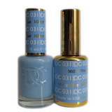 DC Nail Lacquer And Gel Polish (New DND), DC031, Milky Blue, 0.6oz