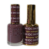 DC Nail Lacquer And Gel Polish (New DND), DC041, Light Mahogany, 0.6oz