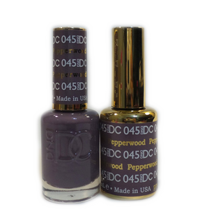 DC Nail Lacquer And Gel Polish (New DND), DC045, Pepperwood, 0.6oz