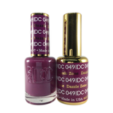 DC Nail Lacquer And Gel Polish (New DND), DC049, Dazzle Zone, 0.6oz