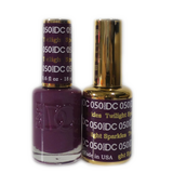 DC Nail Lacquer And Gel Polish (New DND), DC050, Twilight Sparkles, 0.6oz