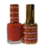 DC Nail Lacquer And Gel Polish (New DND), DC064, Valentine Red, 0.6oz