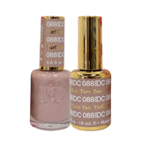 DC Nail Lacquer And Gel Polish (New DND), DC088, Turf Tan, 0.6oz