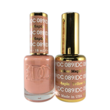 DC Nail Lacquer And Gel Polish (New DND), DC089, Yellow Maple, 0.6oz