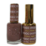 DC Nail Lacquer And Gel Polish (New DND), DC093, Light Fawn, 0.6oz