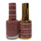 DC Nail Lacquer And Gel Polish (New DND), DC095, Orange Rust, 0.6oz