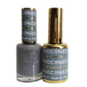 DC Nail Lacquer And Gel Polish (New DND), DC096, Olive Garden, 0.6oz