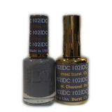 DC Nail Lacquer And Gel Polish (New DND), DC102, Charcoal Burst, 0.6oz